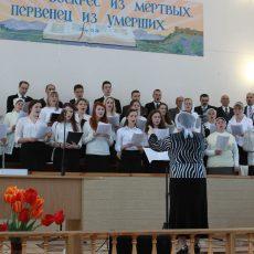 Евангелизационное пасхальное служение в Шостке