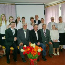 Пасхальные праздники в Глуховской церкви
