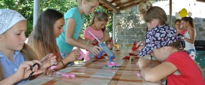 Детский лагерь при церкви «Возрождение»