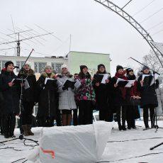 Рождественский концерт в Шостке