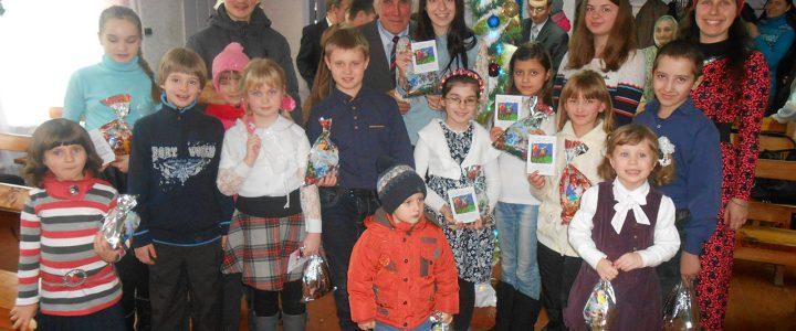Рождественские праздники в Глуховской церкви