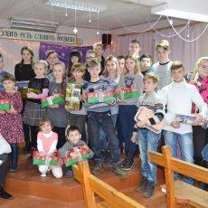 Глуховская церковь праздновала Рождество
