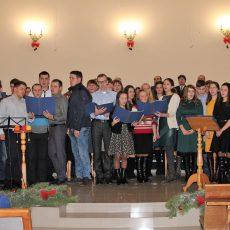 Християнська молодь Лебедина зустріла Новий рік