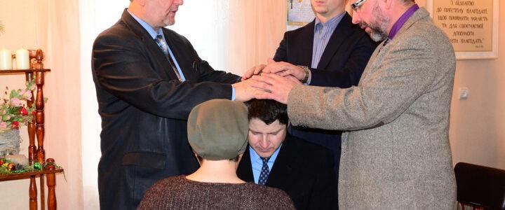 Рукоположение в Ямпольской церкви